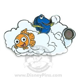 Disney Mystery Pin & Card - Dreams Clouds - Nemo
