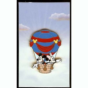 Disney Mystery Pin - Hot Air Balloon - Mickey and Minnie Mouse