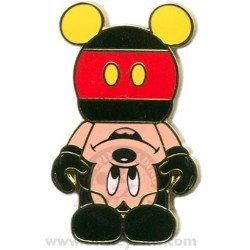 Disney Mystery Pin - vinylmation - Upside-Down Mickey