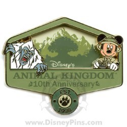 Disney Passholder Pin - Animal Kingdom - 10th Anniversary