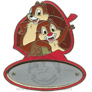 Disney Personalized Pin - Chip and Dale
