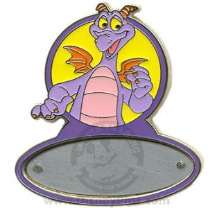 Disney Personalized Pin - Figment