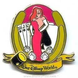 Disney Spotlight Pin - Games - Jessica Rabbit