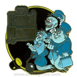 Disney Spotlight Pin - E-Ticket Attractions - The Haunted Mansion