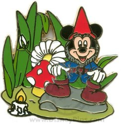 Disney Spotlight Pin - Garden Gnome - Mickey