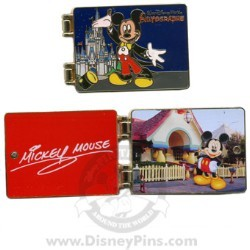 Disney Spotlight Pin - Autograph Book - Mickey Mouse