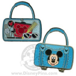 Disney Spotlight Pin - Character Hand Bag - Mickey