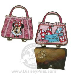 Disney Spotlight Pin - Character Hand Bag - Minnie