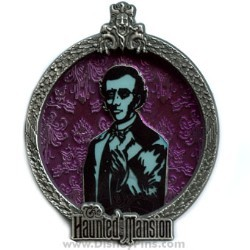 Disney White Glove Pin - Haunted Mansion - Master Gracey