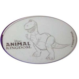 Disney Pressed Quarter - Animal Kingdom - Rex from Toy Story