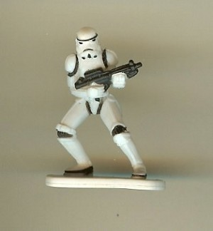 Disney Series 4 Star Wars Mini Figure – STORMTROOPER