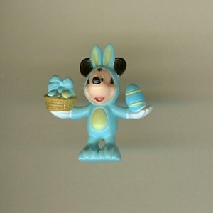 Disney Series 7 Holiday Mini Figure - EASTER BUNNY MICKEY