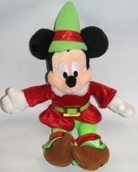 Disney Plush - Mickey - Santa Elf
