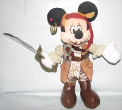 Disney Plush - Pirate - Mickey as Will Turner