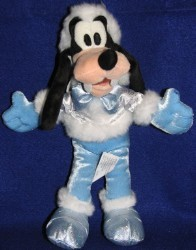 Disney Plush - Goofy - Christmas Holiday Winter Wonderland