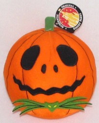 Disney Plush - Jack Skellington - 2008 Halloween Pumpkin