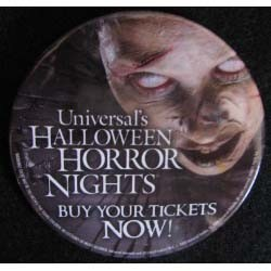 Universal Button - Halloween Horror Nights 2008 - CAST