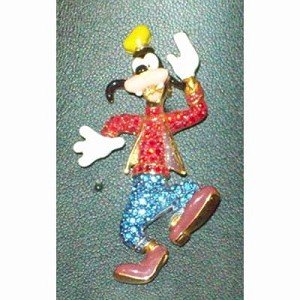 Disney Swarovski Pin - Goofy - Body