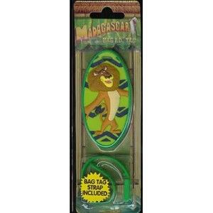 Luggage Bag Tag - MADAGASCAR ALEX THE LION