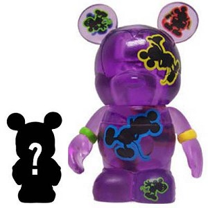 Disney vinylmation Figure - Oh Mickey! - Purple + Jr.