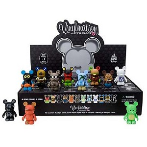 Disney vinylmation Figure Set - Urban 3 - Sealed Case