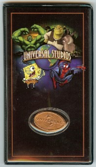 Universal Studios Pressed Penny Collector Book Multi