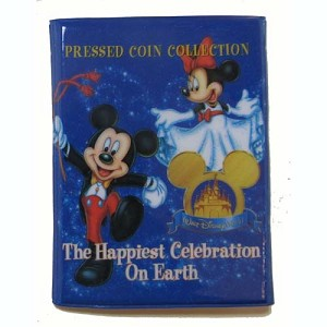 Disney Pressed Penny Collector Book - The Happiest Celebration On Earth