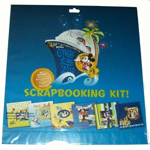 Disney World Scrapbooking Kit - Disney Cruise Line 2010