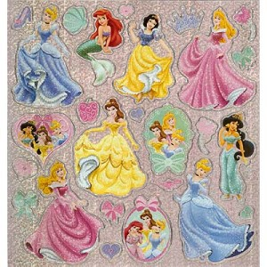 Disney Scrapbooking Stickers - Princesses and Accessories