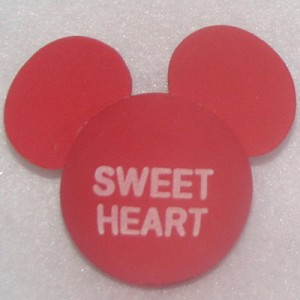Disney Antenna Topper - Mickey Mouse Ears Valentines - Sweet Heart