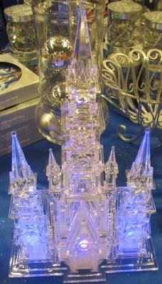 Cinderella Castle Christmas Lights.Disney Christmas Holiday Castle Light Up Sculpture The Magic Castle