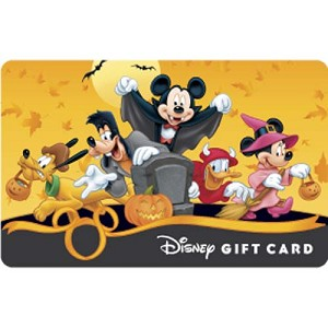 Disney Collectible Gift Card - Halloween - Mickey Trick or Treat