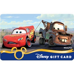 Disney Collectible Gift Card - Cars - Getting A Lift