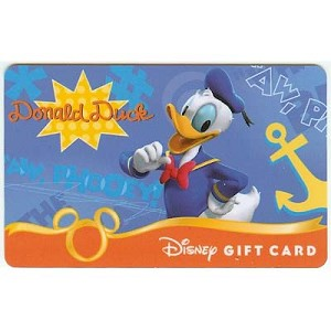 Disney Collectible Gift Card - Fab. Six - Donald Duck