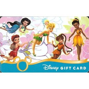 Disney Collectible Gift Card - Tinker Bell and Friends