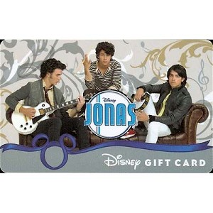 Disney Collectible Gift Card - Jonas Brothers