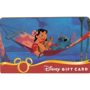 Disney Collectible Gift Card - Lilo and Stitch - Serenade