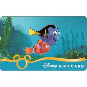 Disney Collectible Gift Card - Finding Nemo - Marlin & Dory