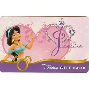 Disney Collectible Gift Card - Heart of a Princess - Jasmine