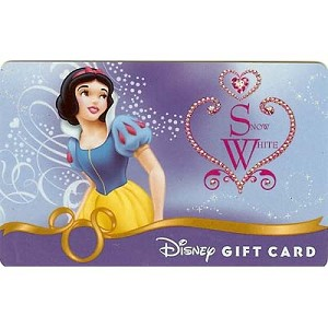 Disney Collectible Gift Card - Heart of a Princess - Snow White