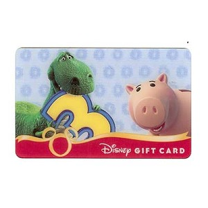 Disney Collectible Gift Card - Toy Story 3 - Rex and Hamm