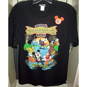 Disney Child Shirt - 2009 Mickey's Not So Scary Halloween
