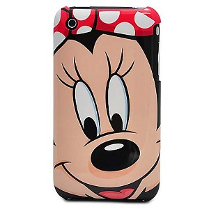 Disney iPhone 3G Case - Minnie Mouse Face