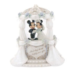 Disney Snow Globe - Wedding - Mickey & Minnie