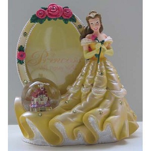 Disney Snow Globe Picture Frame - Belle