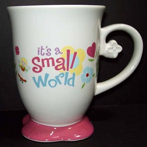 Disney Coffee Cup - Ride Attractions - Small World