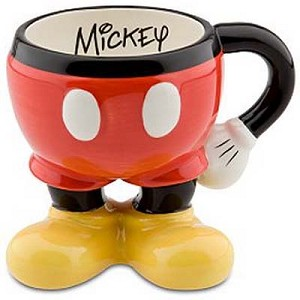 Disney Coffee Cup - Mickey Mouse Legs - Best of Mickey Collection