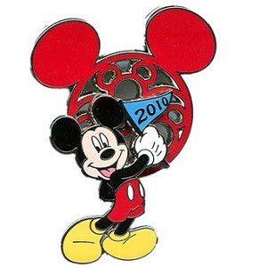 Disney Mickey Mouse Icon w/ Character Pin - Mickey Mouse