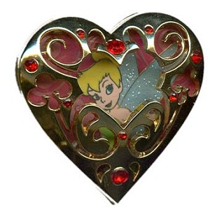 Disney Tinker Bell Birthstone Collection Pin - January