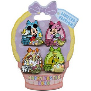Disney Easter Pin - 2010 - Mini Pin Collection
